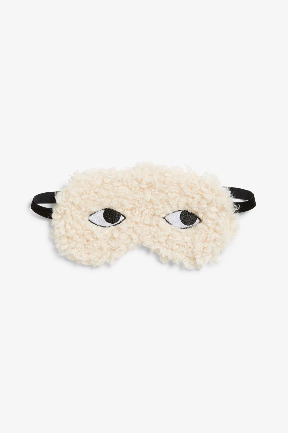 Monki Furry Sleeping Mask